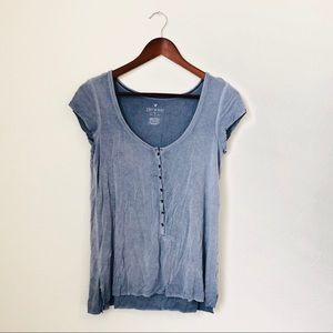 American Eagle•Blue Soft Shirt